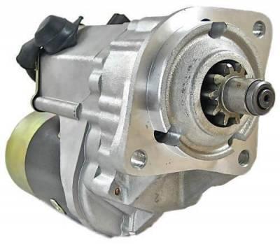 Rareelectrical - New 12V 10 Tooth Cw Starter Motor Fits Caterpillar Skid Steer  247B 247 3392900