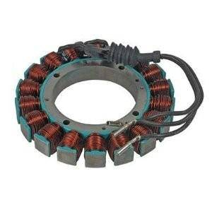 Rareelectrical - New 12 Volt 38 Amp Stator Fits Harley Davidson Big Twin Softail Dyna 30017-01 3001701