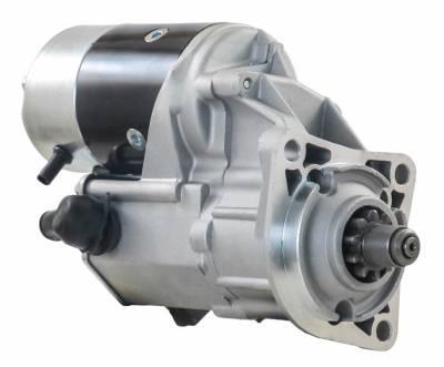 Rareelectrical - 12V Starter Motor Fits 1980-2001 Barber Greene Paver Bg730 3056T Fits Caterpillar Diesel - Image 2