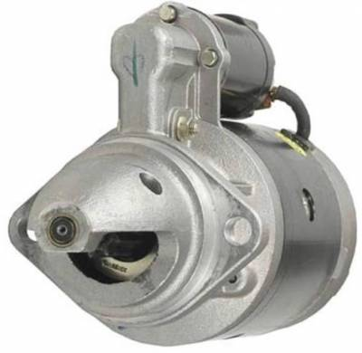 Rareelectrical - New Clockwise Starter Motor Fits Caterpillar Lift Truck T165 T180c T200c T250c - Image 1
