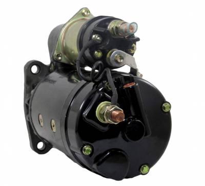 Rareelectrical - New 12V 12T Starter Motor Fits International Truck 8100-8600 Dt-466 10461169 1993969 - Image 2