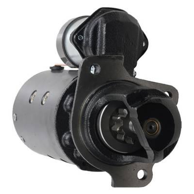 Rareelectrical - New 10T Starter Fits Massey Ferguson Crawlers Mf-200 72-77 Mf-2244 66-71 1107868 - Image 1