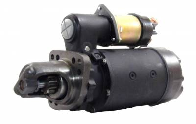 Rareelectrical - New Starter Motor Fits John Deere New Holland Combine 10461416 10478957 Se501409 - Image 1