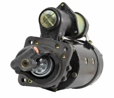 Rareelectrical - New 24V 10T Cw Dd Starter Motor Fits John Deere Engine 6414T 6466A 6466D 6466T Re43300 - Image 2