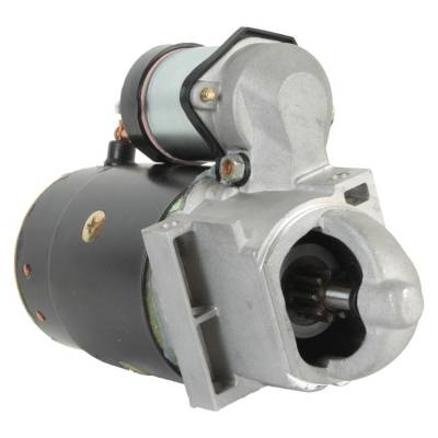 Rareelectrical - New 9T 12V Starter Fits Crusader 262 4.3L 1979-1988 305 5.0L 1977-1995 1109483 - Image 1