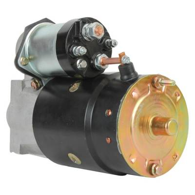 Rareelectrical - New 9T 12V Starter Fits Crusader 262 4.3L 1979-1988 305 5.0L 1977-1995 1109483 - Image 2