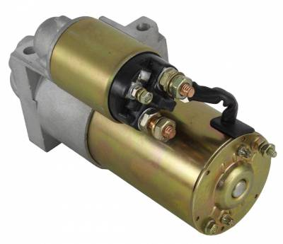 Rareelectrical - New Sbc Bbc Chevrolet Staggered Bolt Hi Torque Mini Starter For 305 350 366 454 Fits 168 Tooth - Image 2