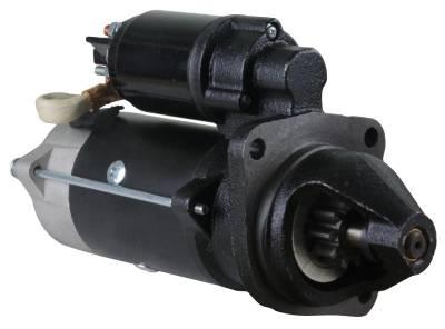 Rareelectrical - 12V 10T Cw Starter Motor Fits Case Tractor Farmall 90 95 95C 95N 95U 0-001-230-021 - Image 1