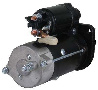 Rareelectrical - 12V 10T Cw Starter Motor Fits Case Tractor Farmall 90 95 95C 95N 95U 0-001-230-021 - Image 2