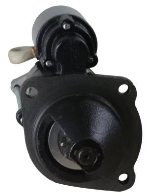 Rareelectrical - 12V 10T Cw Starter Motor Fits Case Tractor Farmall 90 95 95C 95N 95U 0-001-230-021 - Image 3