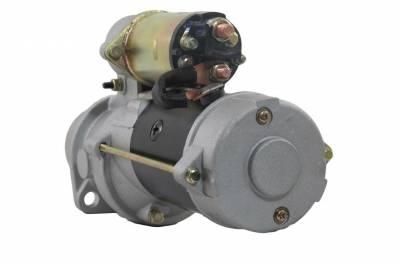 Rareelectrical - New 12V 10T Cw Starter Motor Fits Bobcat Clark Skid Steer Loader 975 4-276 Re50095 - Image 2