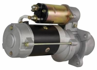Rareelectrical - New Starter Motor Fits Bobcat Skid Steer Loader 980 Cummins 4Bt3.9L Diesel 10461448 - Image 2