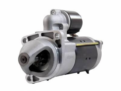 Rareelectrical - New Starter Motor Fits 87-94 Deutz Fahr Combine M3630 M3640 1109496 1113286 1998380 - Image 2