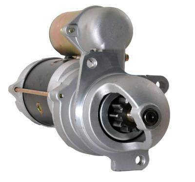 Rareelectrical - New Starter Motor Fits 88-92 Hyster Lift Truck Gm Engine 10461485 067-6372 676372 1107592 1113290 - Image 1