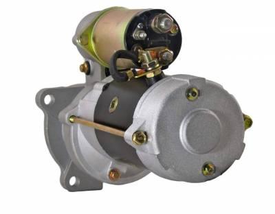 Rareelectrical - New Starter Motor Fits 88-92 Hyster Lift Truck Gm Engine 10461485 067-6372 676372 1107592 1113290 - Image 2