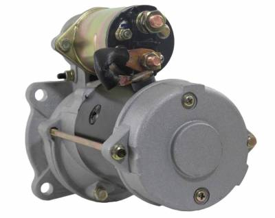 Rareelectrical - New Starter Motor Fits 96 Lincoln Welder Perkins Engine 1109550 323-822 323-438 1998383 1998387 - Image 2