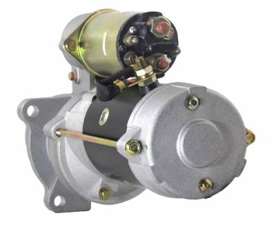 Rareelectrical - New 12 Volts 10 Teeth Starter Motor Fits Lister-Petters Tractor Tx2 Tx3 1987 10461463 10479607 - Image 2