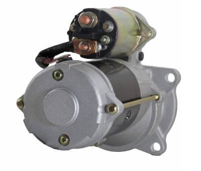 Rareelectrical - New 12V Starter Motor Fits 92-99 Ford Truck L6000 7000 8000 9000 5.9 3675172Rx 323504 - Image 2