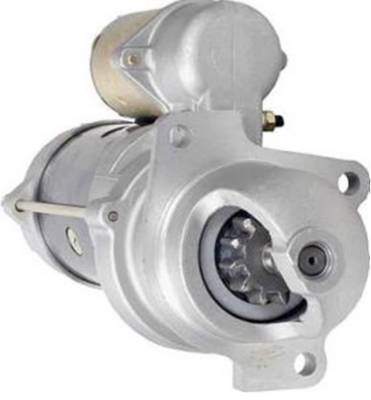 Rareelectrical - New Starter Motor Fits Hyster Lift Truck H-110E-160 L6-250 1998339 6701847 6714082 1998347 1998455 - Image 1