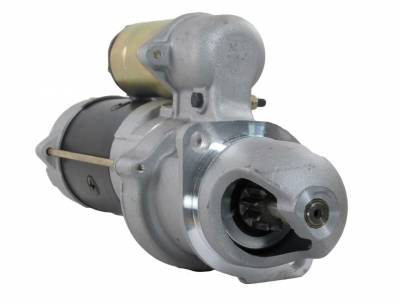 Rareelectrical - New 12V 10T Cw Starter Motor Fits John Deere Tractor 510C 510D 610C 1113271 - Image 1