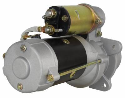 Rareelectrical - New Starter Motor Fits Massey Ferguson Tractor Industrial Mf-20 Mf-20C 1107872 - Image 2