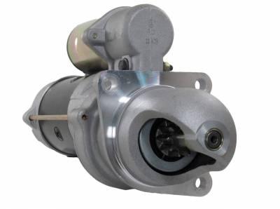 Rareelectrical - Starter Fits Case Uni Loader 1740 1835 1845 1845S 188 148 2743536 3604654 3604654Rx 3916854 10461285 - Image 1