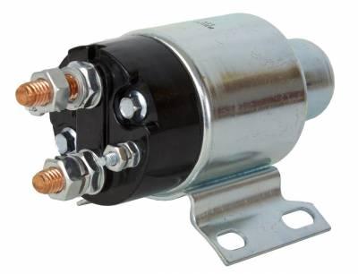 Rareelectrical - New Starter Solenoid Fits Massey Ferguson Crawler Mf-300 3366 400 Perkins Diesel - Image 1
