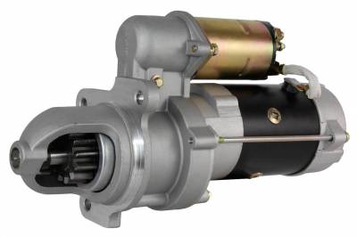 Rareelectrical - New Starter Motor Fits Perkins Engine 4.108 4.154 Diesel 10465048 1113279 1113280 - Image 1