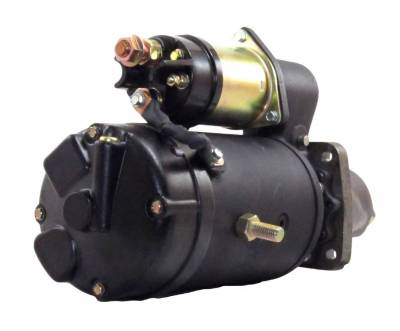 Rareelectrical - New Starter Motor Fits 1994-97 New Holland Combine Tx66 Tx68 Ford 6-456 6-576 Diesel - Image 2