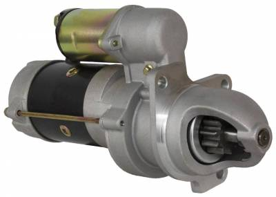 Rareelectrical - New Starter Fits 75 76 77 78 79 International Combine 715D 1108644 1998331 1998350 1998357 1998484 - Image 1
