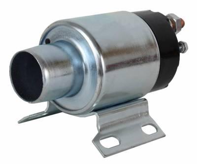 Rareelectrical - New Starter Solenoid Fits Bobcat Wood Loader Skid Steer M-970 Perkins 4-236 Diesel - Image 2