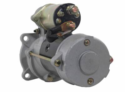 Rareelectrical - New 12V 10T Starter Fits Case Crane 85Mr2 Carry Deck 1970-79 D-188 G-188 323-487 323-487 - Image 2