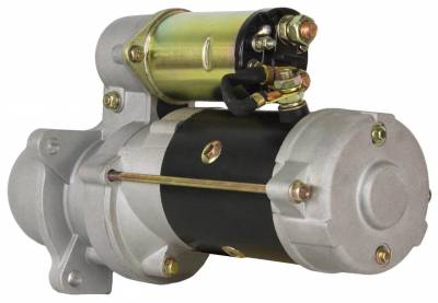 Rareelectrical - New Starter Fits  Allis Chalmers Lift Truck Fd-40 Fd-70 Fd-80 10R-0400 143-0537 7C4622 8T9685 - Image 2