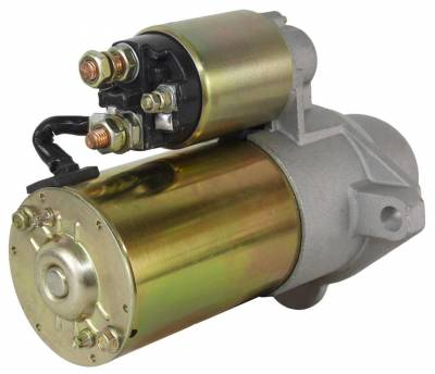 Rareelectrical - New Starter Motor Fits 02 03 04 05 Gmc Lt Trucks Envoy 4.2L  9000966 9000979 9000966 9000979 - Image 2