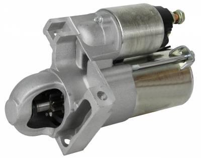 Rareelectrical - New Starter Motor Fits 01 02 03 04 05 Pontiac Aztek 3.4L 323-1396 9000901 12577949 - Image 1