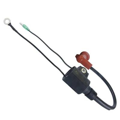 Rareelectrical - New Ignition Coil Fits Yamaha Outboard 9.9E 9.9M 9.9F 10Hp 1996-06 63V-85570-00-00 63V855700000 - Image 2