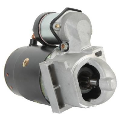 Rareelectrical - New 9T 12V Starter Fits Crusader 262 4.3L 1979-1988 305 5.0L 1977-1995 1109483 - Image 1