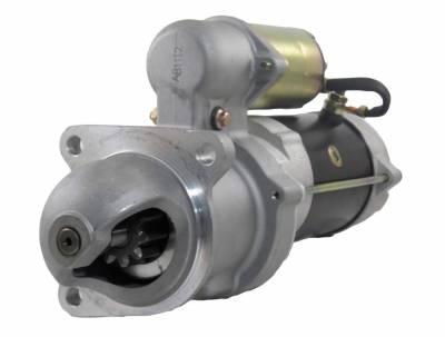 Rareelectrical - New 12V 10T Starter Motor Fits 1983-85 Perkins 4.236 Engine 0-23000-2000 1998389 - Image 1