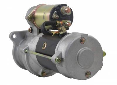 Rareelectrical - New 12V 10T Starter Motor Fits 1983-85 Perkins 4.236 Engine 0-23000-2000 1998389 - Image 2