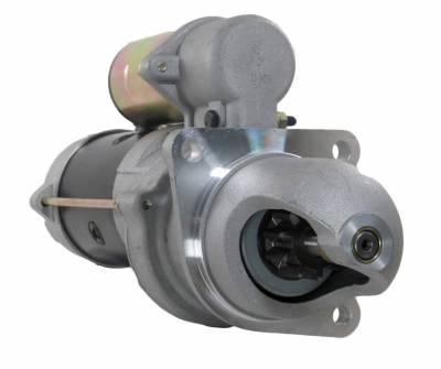 Rareelectrical - New 12V 10T Starter Motor Fits Allis Chalmers Forklift Fpd-40 Fpd-50 4917197 1998481 - Image 1