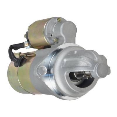 Rareelectrical - New 9T 12V Gear Reduction Starter Compatible With Caterpillar Lift Truck T165 79-81 10455601 - Image 1