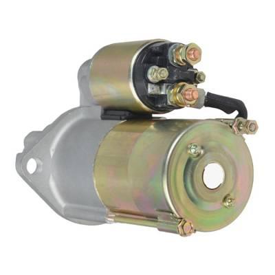 Rareelectrical - New 9T 12V Gear Reduction Starter Fits Crusader 170 Engine 61-69 1108373 1107709 - Image 2