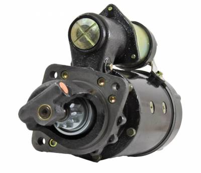 Rareelectrical - New 24V 10T Cw Dd Starter Motor Fits Perkins Engine 4.236 540 6.354 Re65175 Ty24926 - Image 2