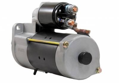 Rareelectrical - New Starter Motor Fits 87-94 Deutz Fahr Combine M3630 M3640 1109496 1113286 1998380 - Image 1