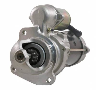 Rareelectrical - New 12V 10T Starter Motor Fits 92-99 Ford Hd Truck 9000 8000 7000 L6000 F3ht11001ab - Image 1