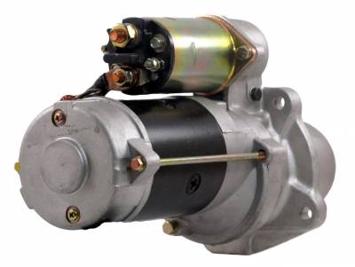 Rareelectrical - New 12V 10T Starter Motor Fits 92-99 Ford Hd Truck 9000 8000 7000 L6000 F3ht11001ab - Image 2
