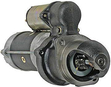 Rareelectrical - New Starter Motor Compatible With 85-97 John Deere Backhoes 210C 210Le 300D 10479630 1109208 - Image 1