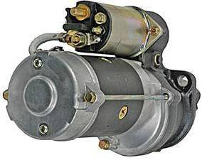 Rareelectrical - New Starter Motor Compatible With 85-97 John Deere Backhoes 210C 210Le 300D 10479630 1109208 - Image 2