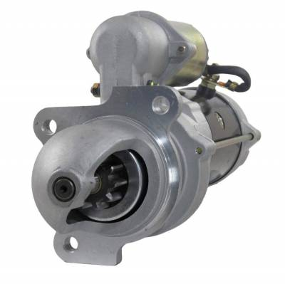 Rareelectrical - New 12V 10T Starter Motor Compatible With Clark Skid Steer Loader 2000 Perkins 4-154 1998359 Ac - Image 1