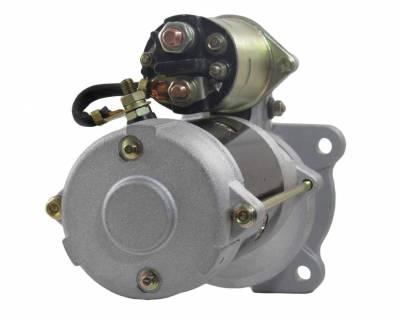 Rareelectrical - New 12V 10T Starter Motor Compatible With Clark Skid Steer Loader 2000 Perkins 4-154 1998359 Ac - Image 2